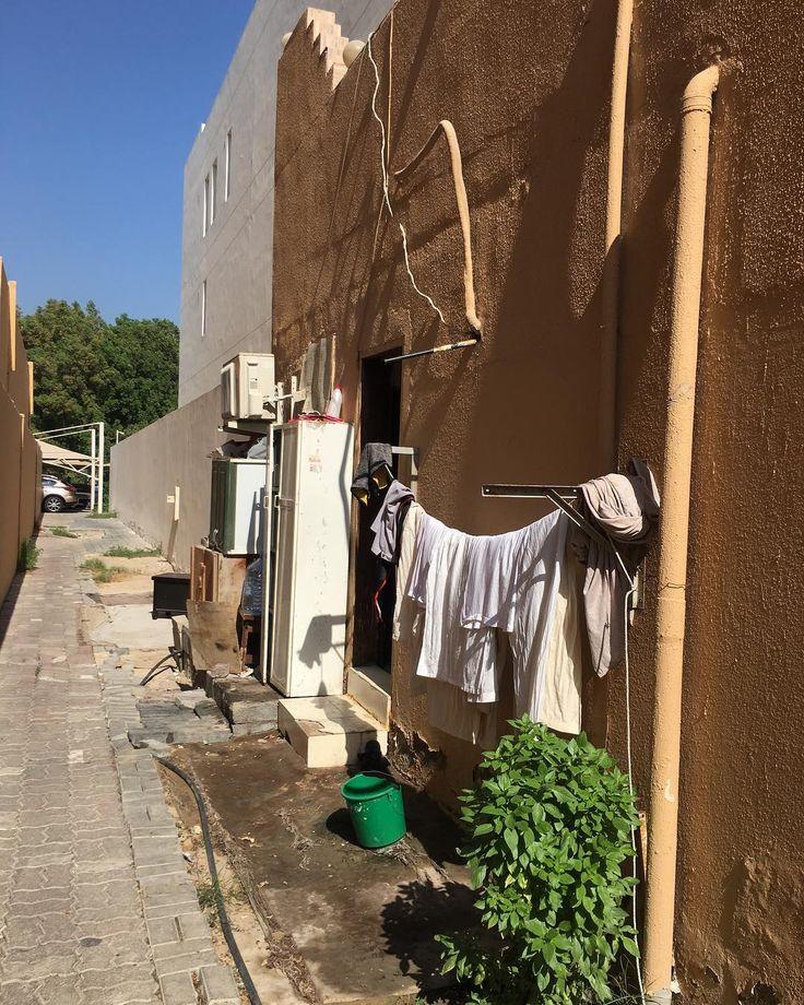 Side street life Abu Dhabi