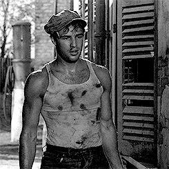 Marlon Brando in A Streetcar Named Desire..1951