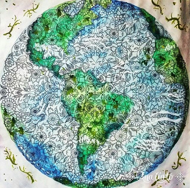 22 Best Mandala Borboleta Jardim Secreto Images On