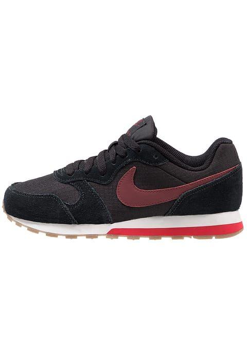 443d1ba6db2 Nike MD RUNNER 2 Trainers black/dark team red/university red | Nike ...