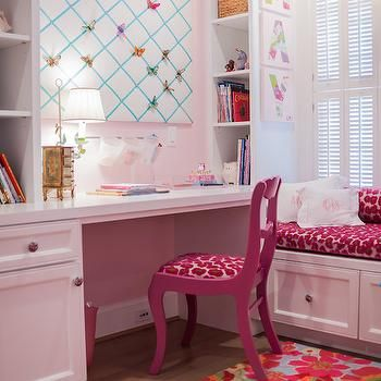 upholstered desk chair and/or painted