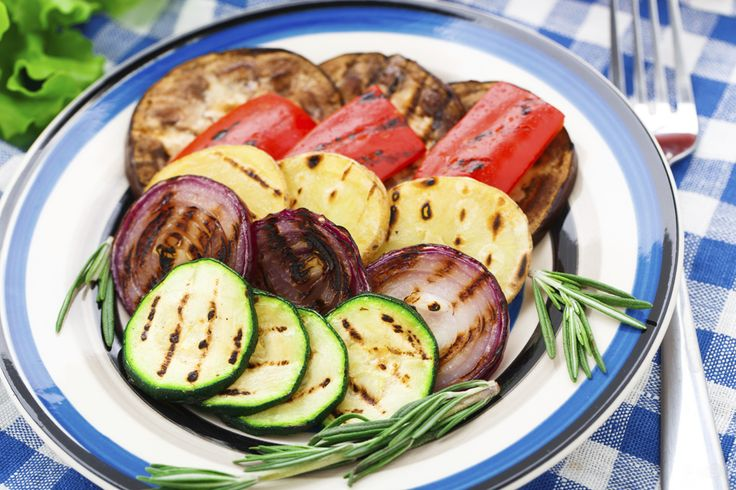 Grilled vegetables add color, flavor and nutrition to your next BBQ get together.