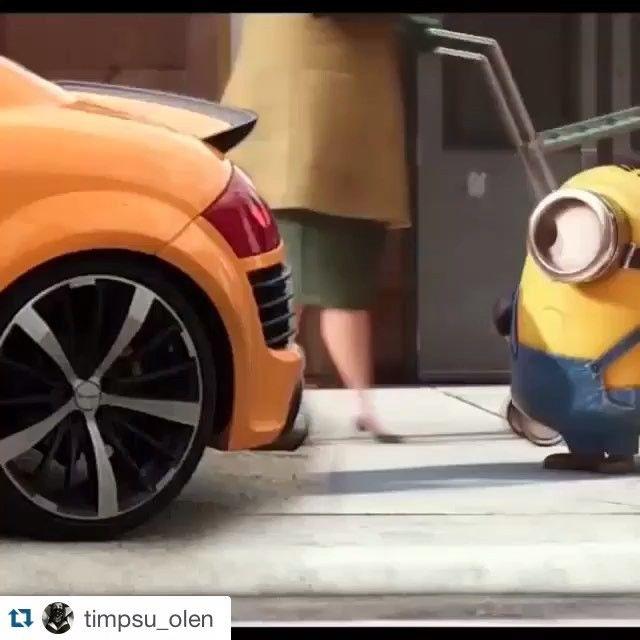 #Repost @timpsu_olen ・・・ Minion Papaya Audi TT 3.2 #follow4follow #followefollowefollowe #follow #likeforlike #like4like #likeback #likesforlikes #minio #minions ##auditt #audittclub #papaya #naranjapapaya #papayaorange #funny #instagood #instadaily #commentback #comment #followme