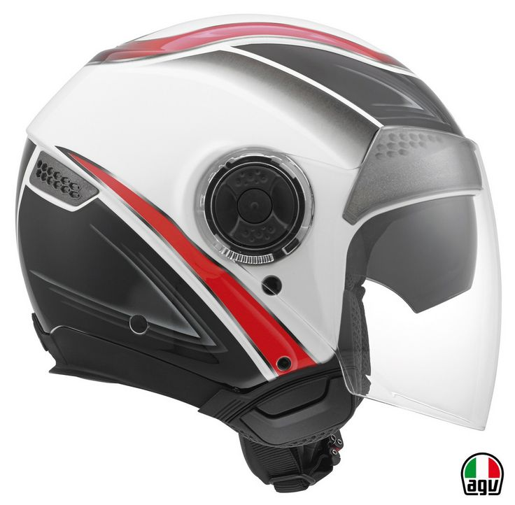 AGV New Citylight - Urbanrace White/Black/Red