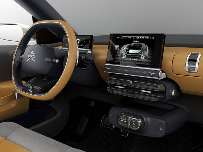 Citroën Cactus Concept: first images of new Citroen SUV concept
