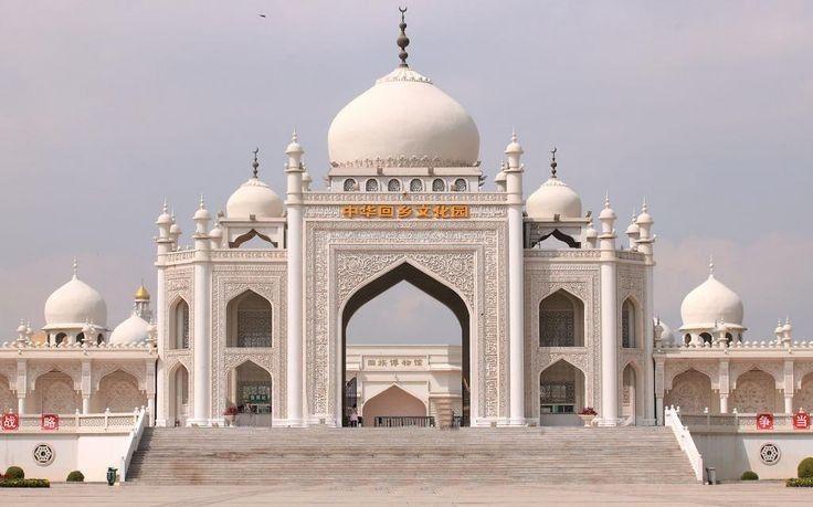 Hui Mosque in Ningxia, China