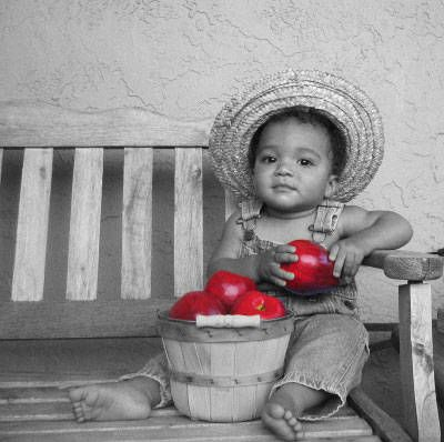 black and white photos with color accents | Black and White Partial Color Effect - Photoshop Elements Tutorial ...