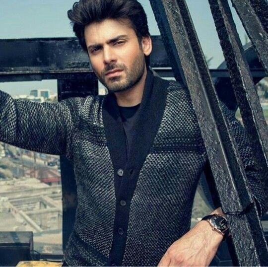 Smokin' hot Fawad Khan