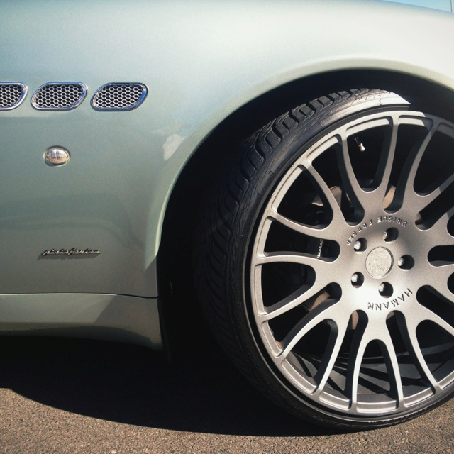 "22"" strong Hamann Forged Alloy Wheels on a Maserati QP"