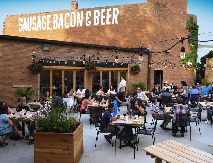 173 OUTDOOR DRINKING SPOTS IN CHICAGO. From Beer Gardens, To Patios, To  Rooftops