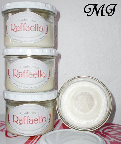Eine Leckere Creme als Brotaufstrich die genauso wie die Füllung der bekannten Raffaello schmeckt