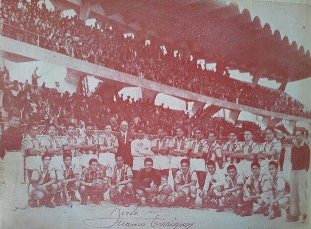 Seleccion Nariño de futbol de 1953 con Juan Conto Moncayo como Presidente de la liga