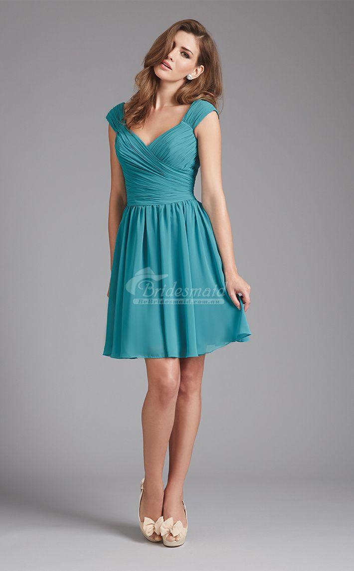 143 best Short Bridesmaid Dresses images on Pinterest   Brides ...