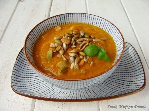 Smak Mojego Domu: Kremowa zupa marchewkowa
