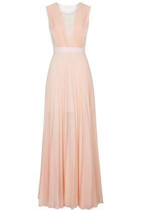 **Pleated Maxi Dress by Jovonna