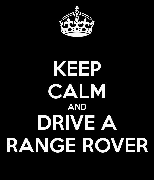 Love the Range Rover! http://did.bz/TeamStrea