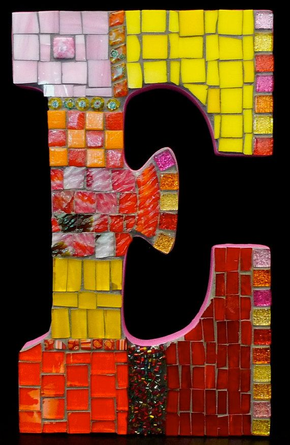 111 Best Images About Mosaic Letters And Words On