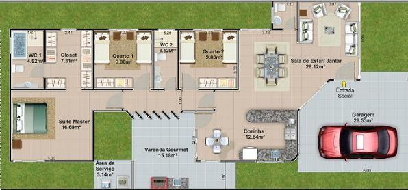 Casas de campo planos y dise os google search casa de for Planos de casas de campo