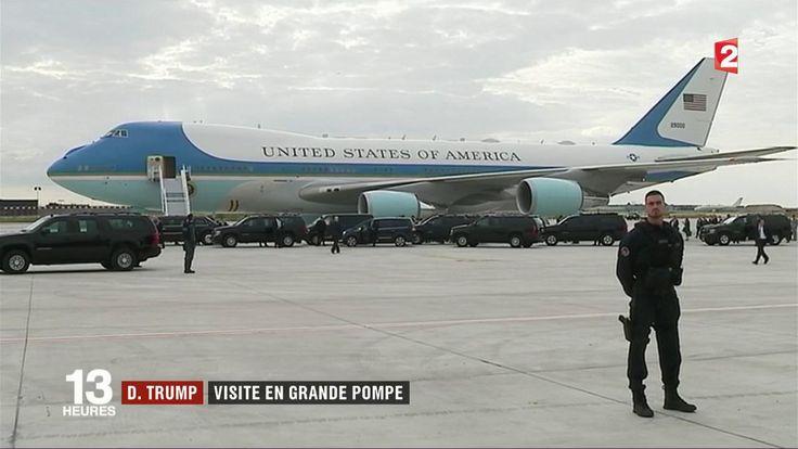 La visite officielle de Donald Trump en France a une forte charge politique et symbolique. Le président américain et son épouse disposent de moyens de protection exceptionnels.