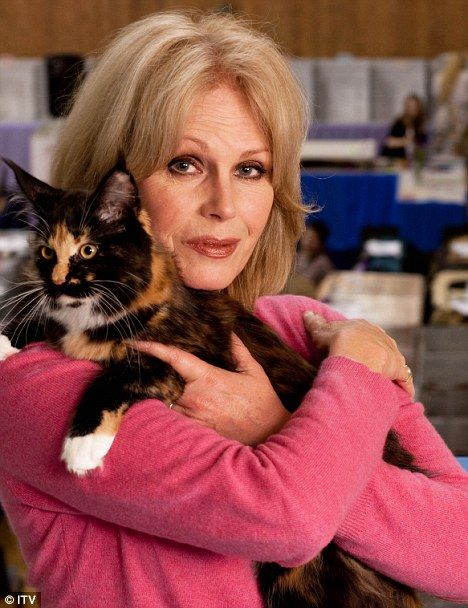 Joanna Lumley is Absolutely Fabulous!