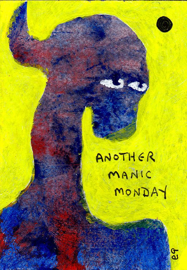 Folk Selt Taught Outsider Art In >> Another Manic Monday E9art Aceo Self Taught Outsider Folk Art