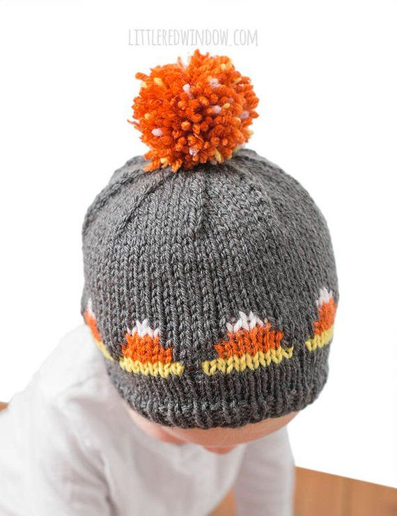 Baby Candy Corn Hat Knitting Pattern Candy Corn Outfit 1st Etsy In 2020 Hat Knitting Patterns Baby Hat Knitting Pattern Halloween Knitting Patterns