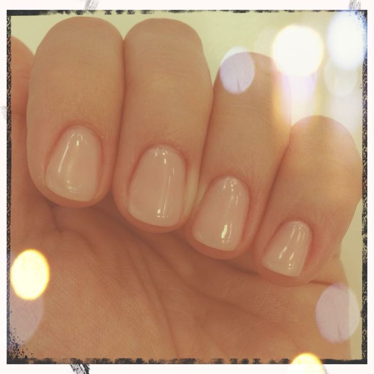Natural nails unghie naturali nude
