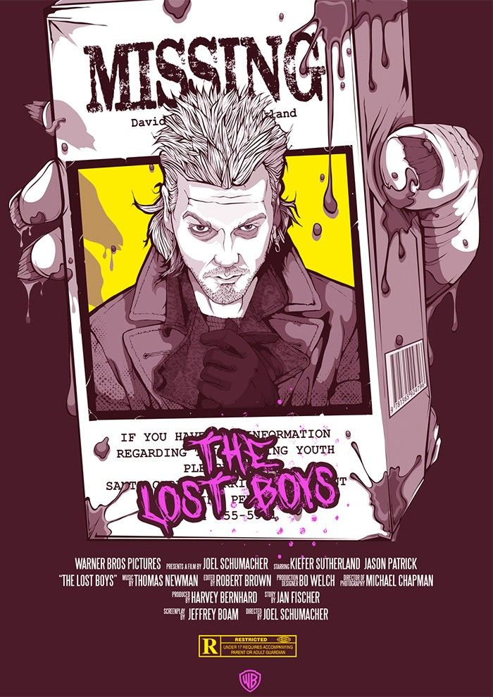 Pin By Daily Doses Of Horror Hallow On The Lost Boys 1987 Lost Boys Movie
