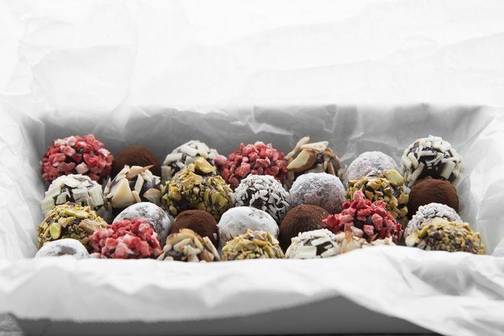 Hobbykokkens sjokoladetrøfler til jul