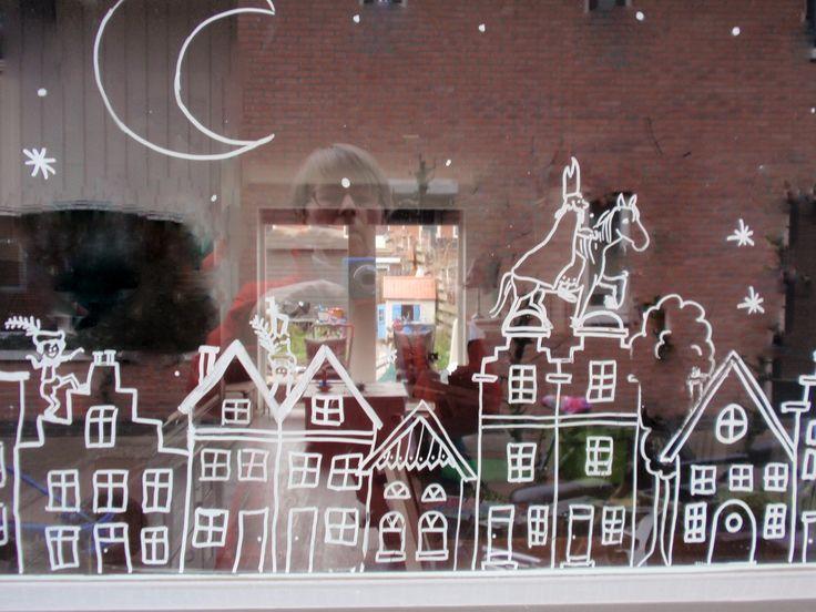 alles-vanellis: krijtstift voor op het raam