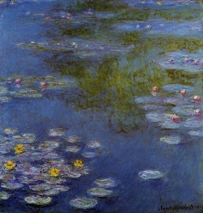Nénuphars (30), huile sur toile de Claude Monet (1840-1926, France)