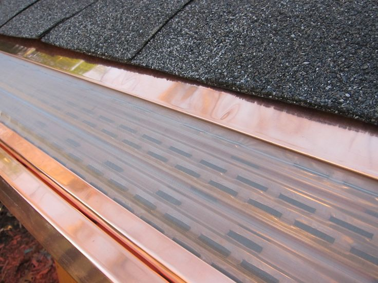 Interior : Gutter Protection Plastic Gutter With Copper Making It More Robust And Durable Really The Maximum Protection To Channel Water From The Roof Different Types Of Gutter Protection Systems Bendigo. Freeze. Leaffilter Cost.