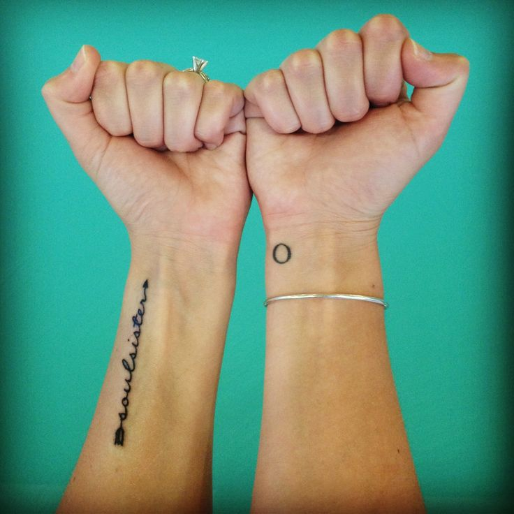 Soul sister tattoo tattoo ideas pinterest soul for Tattoos for sisters of 3
