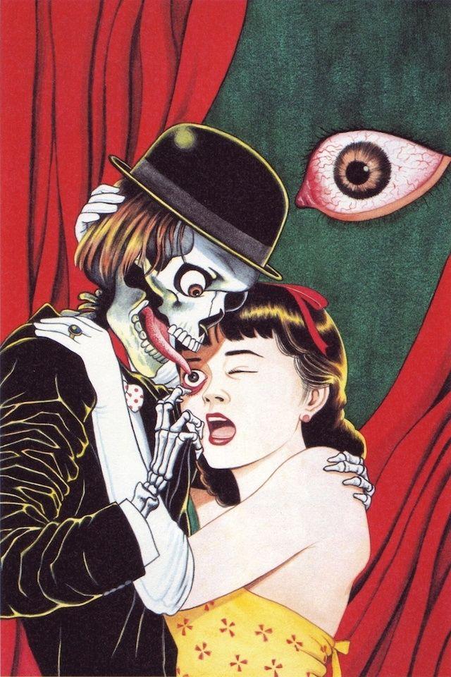 Estas ilustraciones japonesas sangrientas y grotescas revelan un legado de ideas sociopolíticas.
