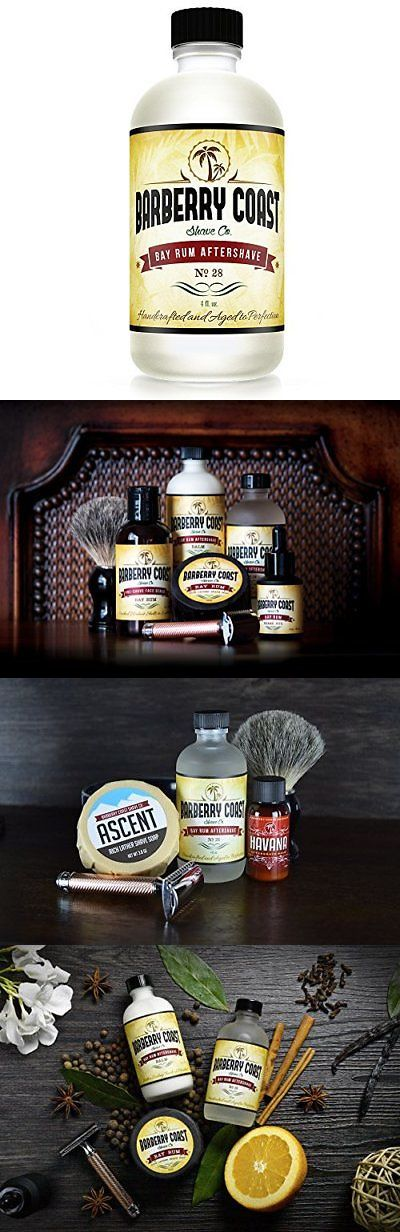 Aftershave and Pre-Shave: Bay Rum Aftershave Splash For Men - 4Oz. - Natural And Pure Ingredients -> BUY IT NOW ONLY: $35.74 on eBay!