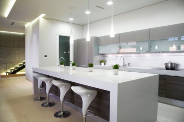 modern kitchen with island photos
