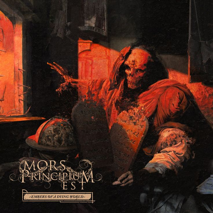 Mors Principium Est — Embers of a Dying World (2017)   Melodic Death Metal