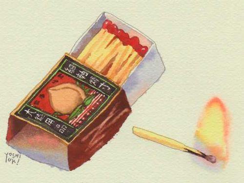 おばけの懸想013.jpg - イラストレーター大崎吉之の絵 | LOVELOG Yoshiyuki