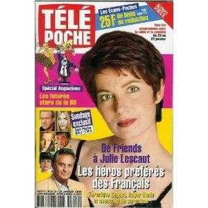 Télé Poche (n°1719) du 18/01/1999 - Véronique Genest - ... [Magazine mis en vente par Presse-Mémoire]
