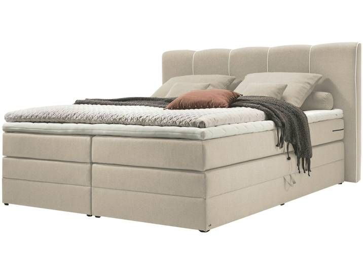 Set One By Musterring Boxspringbett 180x200 Beige Memphis A