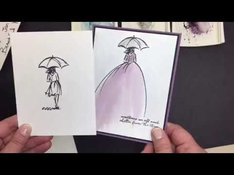 Video: Beautiful You Watercolor Dress |