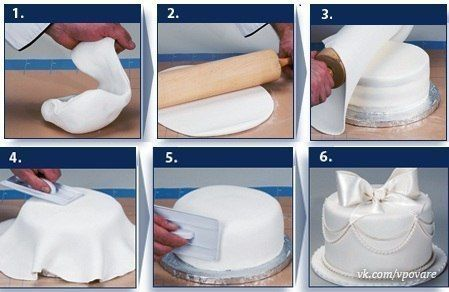 как сделать мастику для торта своими руками? - Самое интересное в блогах