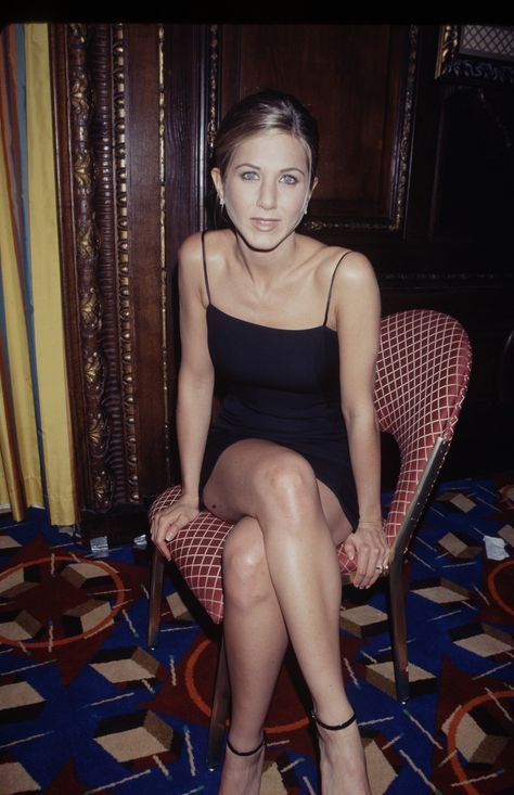Nineties Minimalism. Jennifer Aniston