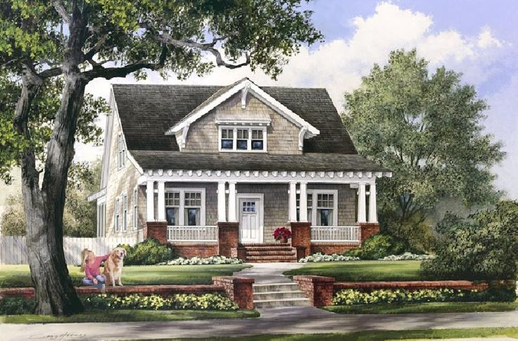 Oh Yes Love Craftsman Style Cozy Floor Plans