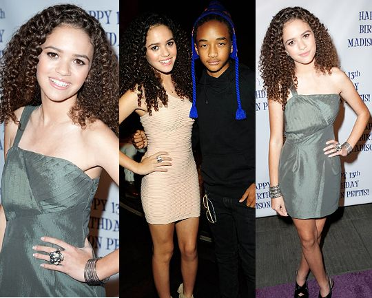 Are madison pettis and jaden smith dating. Dating for one night.