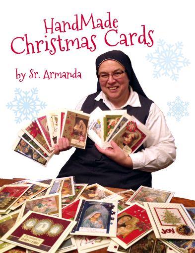 Christmas Cards from Sr. Armanda.