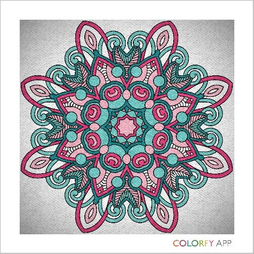 Mandalas from colourfy