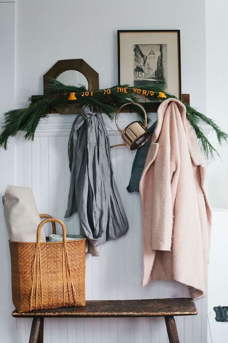 DIY - Wintry Garlands with Citrus Peels on A Daily Something /