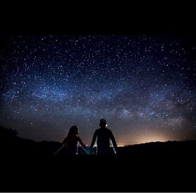 Постер под звездами