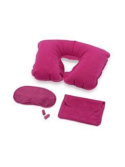 Набор для путешествий: подушка и маска для сна, беруши Дерево Счастья